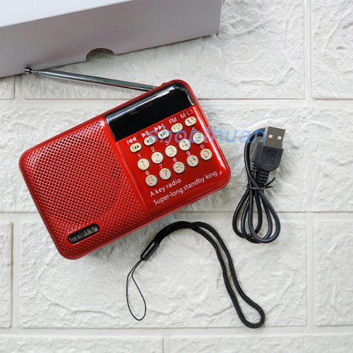 Loa A Di Đà Phật K518 - 1 Pin - Nghe Thẻ Nhớ, USB