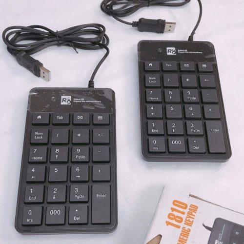 Bàn phím số R8 1810 Cổng USB