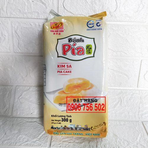 Bánh pía kim sa đậu sầu riêng 300 g - Tân Huê Viên