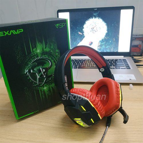 Headphone Chụp Tai EXAVP EX500 Có Led Chuyển Màu