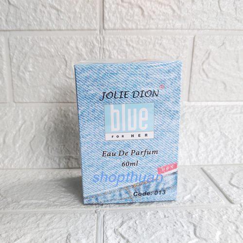 Nước Hoa Nữ Jolie Dion Blue Her 013 - 60ml