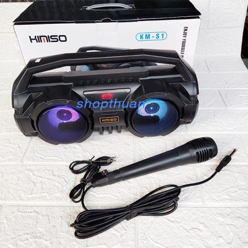Loa Karaoke Bluetooth Kimiso KM-S1 Có Kèm Mic