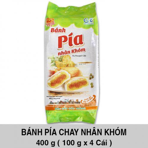 Bánh Pía Chay Khóm 400gr ( 4 cái x 100 gr )