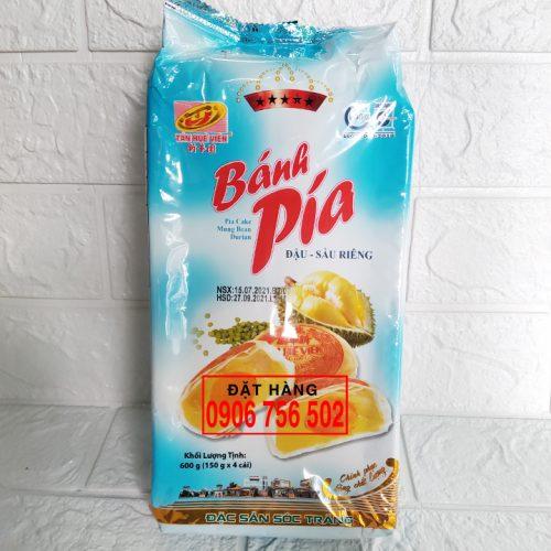 Bánh pía 5 sao đậu sầu riêng 600gr ( 4 cái x 150 gr )
