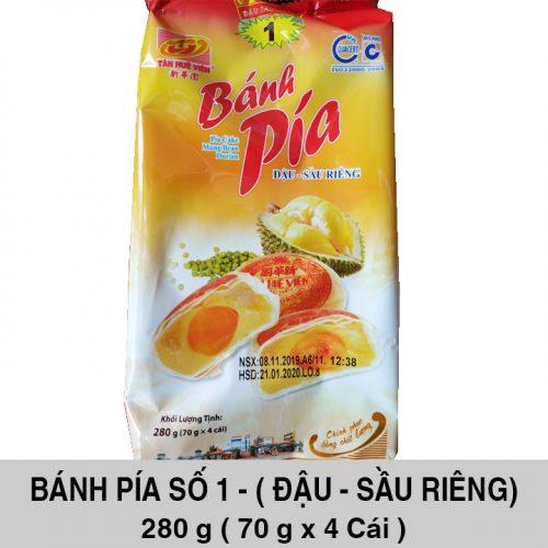 Bánh Pía Số 1 Đậu Sầu Riêng 280gr - Tân Huê Viên