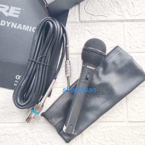Micro Karaoke Có Dây Shure 959