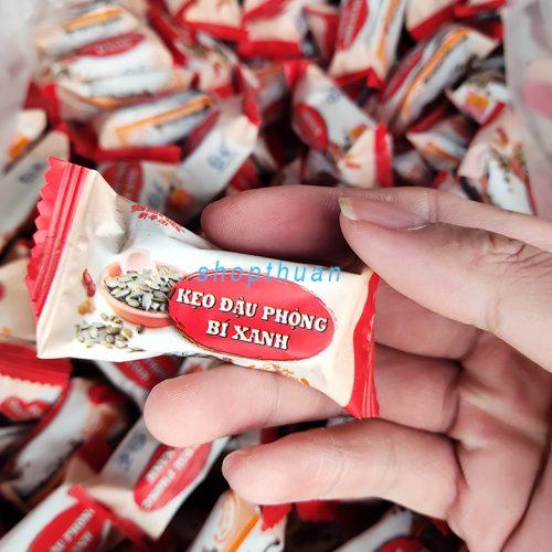 Kẹo Đậu Phộng Bí Xanh Tân Huê Viên ( 1 Kg)