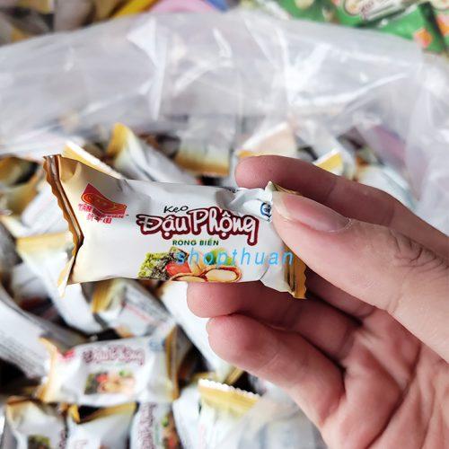 Kẹo Đậu Phộng Rong Biển Tân Huê Viên ( 1 Kg)