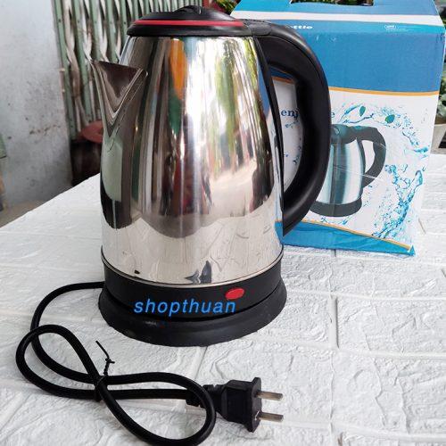 Bình đun nước siêu tốc inox 1.8 lít công suất 1500w