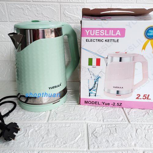 Bình đun nước siêu tốc Yueslila 2.5 lít công suất 1500W