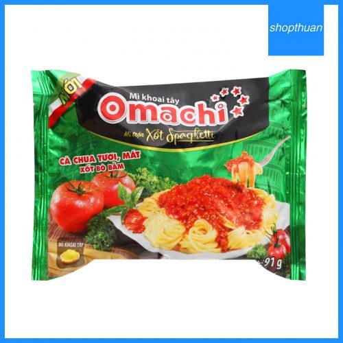 Mì khoai tây Omachi xốt Spaghetti 91g