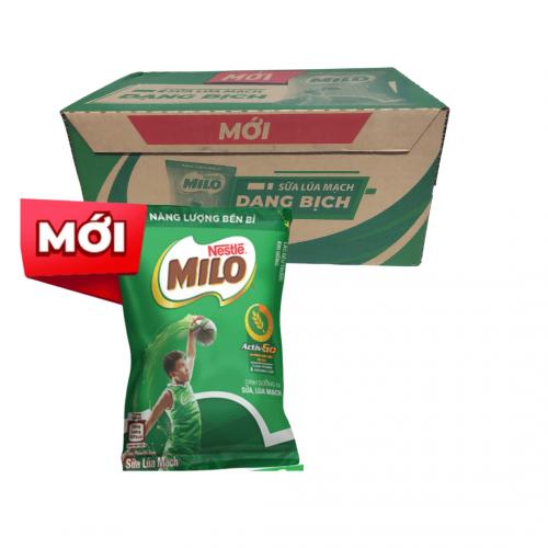 Sữa lúa mạch Milo ít đường hộp 180ml